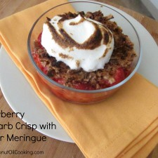 Chef Alyssa 25 225x225  Strawberry-Rhubarb Crisp with Ginger Meringue