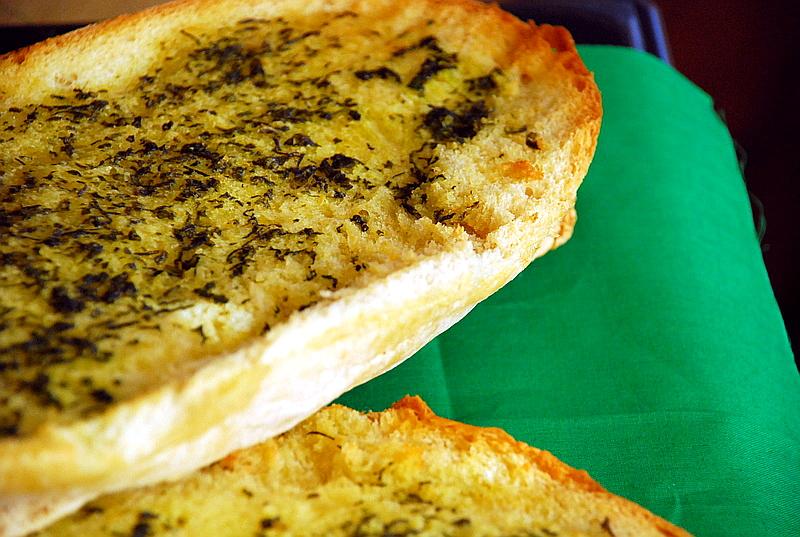 Herby Garlic Bread Photo Courtesy: SugarMamaCooks