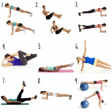 10 Minute Core Workout 225x225  10 Minute Core Workout