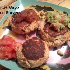 Salmon Burger 225x225  Cinco de Mayo Salmon Burgers