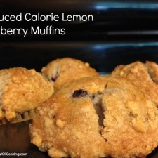 Lemon Blueberry Muffins 225x225  Reduced Calorie Lemon Blueberry Muffins