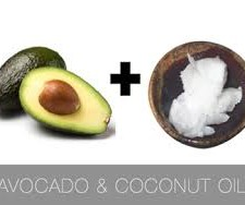 coconut oil and avocado1 225x188  DIY Hair Treatments after the Beach