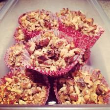 Apple Protein Muffins 225x225  Apple, Coconut, & Walnut Protein Muffins