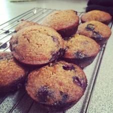 Blueberry Coconut Muffins 225x225  Paleo, Gluten-Free Blueberry Coconut Muffins