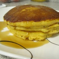 Pumpkin Pancakes 225x225  Gluten-Free Banana Chocolate Chip Pumpkin Pancakes
