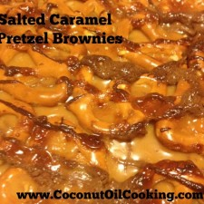 Brownie 225x225  Salted Caramel Pretzel Brownies