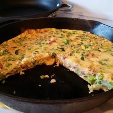 Frittata 225x225  Zucchini Frittata