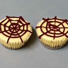 Spider Web Mini Cheesecakes 225x225  Spider Web Mini Cheesecakes