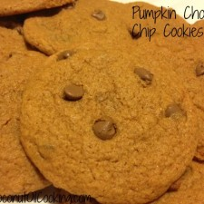 Cookie 225x225  Pumpkin Chocolate Chip Cookies