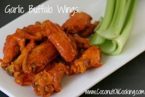 Garlic Buffalo Wings 300x200  Super Bowl Buffalo Wings