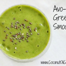 Avo Nut Smoothie 225x225  Coconut Oil and Weight Loss