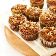 Banana Muffin 225x225  Healthy Banana Walnut Muffins