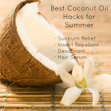 Summer Hacks 225x225  Best Coconut Oil Hacks for Summer