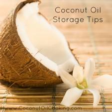 Coconut Storage 225x225  Coconut Oil Storage Tips
