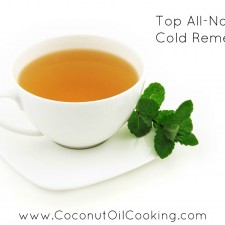 tea 225x225  Top All-Natural Cold Remedies