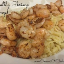 Shrimp Scampi 225x225  Healthy Shrimp Scampi with Risotto
