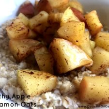 Apple Cinnamon Oats 225x225  Gluten Free Apple Cinnamon Oats