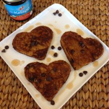 Gluten-Free Pumpkin Chocolate Chip Pancakes - YUM!