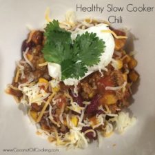Slow Cooker Chili 225x225  Healthy Slow Cooker Chili